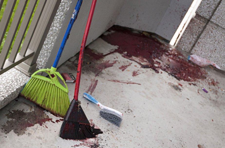 Un homme a été tué par balle sur... (Photo: Ivanoh Demers, La Presse)