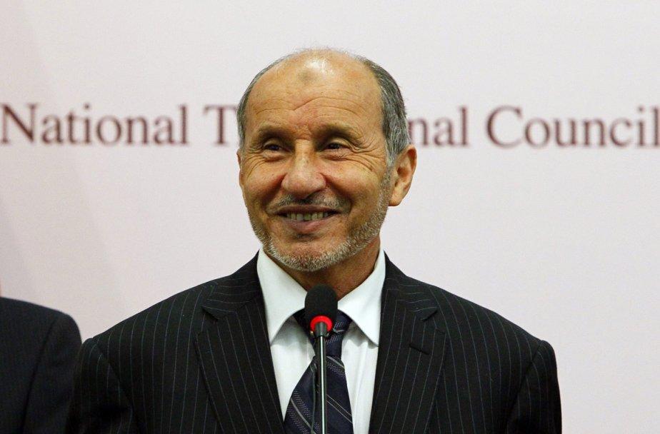 Le chef du Conseil national de transition, Moustapha... (Photo: Francois Mori, AP)