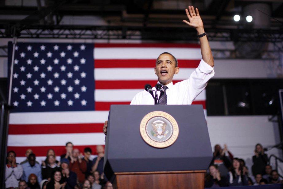 À un an des élections présidentielles, Barack... (Photo: Jason Reed, Reuters)