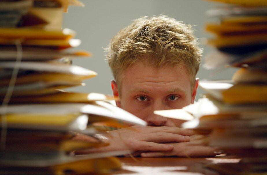 Si on souffre de détresse psychologique ou... (Photothèque La Presse)