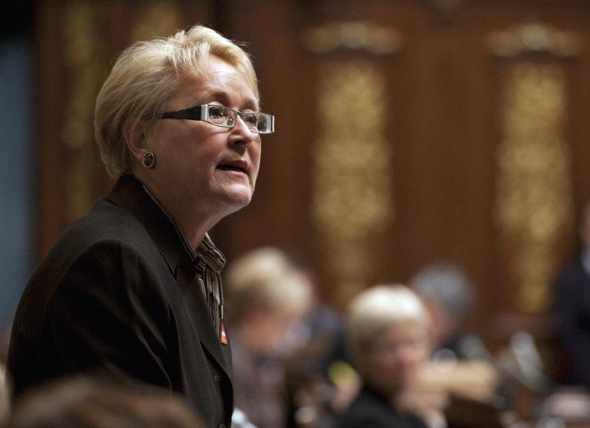 Pauline Marois... (Photo Presse canadienne Jacques Boissinot)