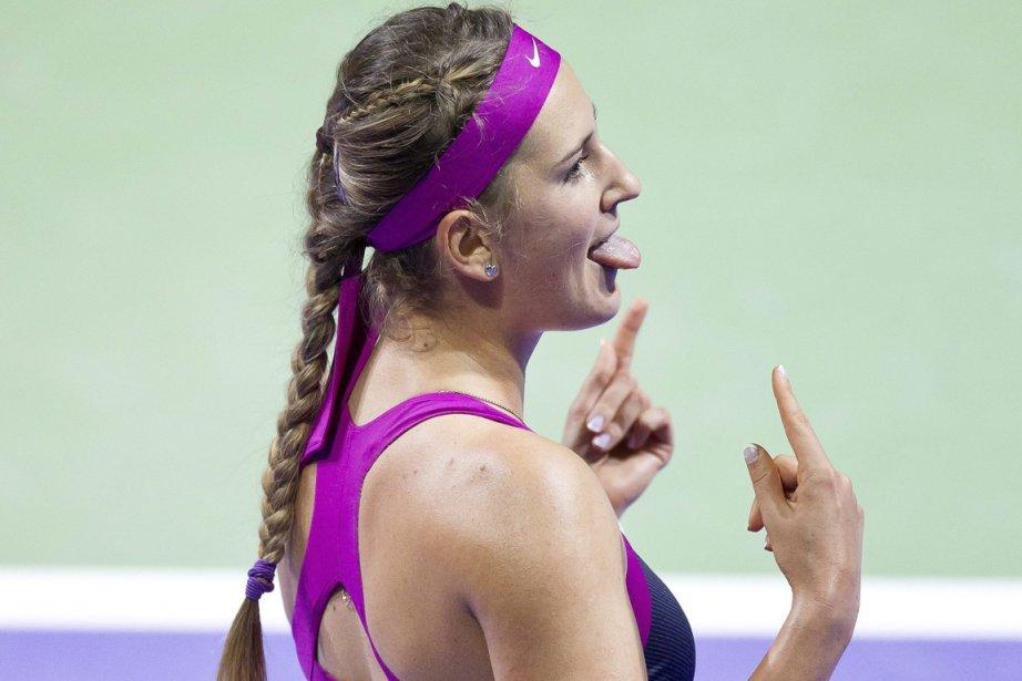 Victoria Azarenka a battu Li Na en deux... (Photo: AP)