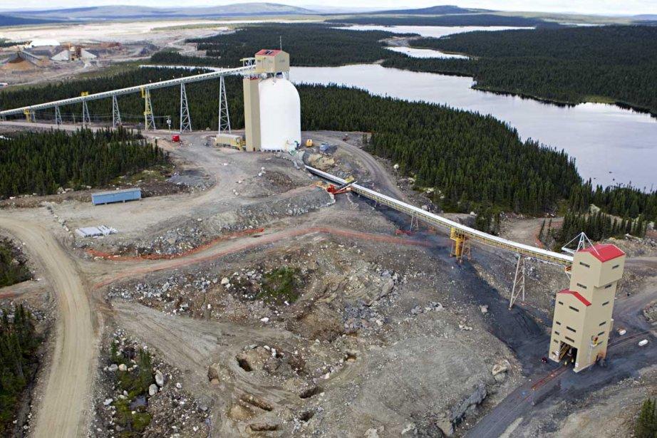La mine de fer de la Consolidated Thompson... (Photo François Roy, La Presse)