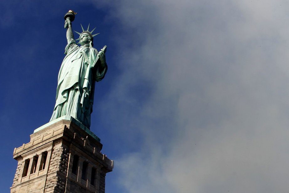 La Statue de la Liberté... (Photo: Reuters)