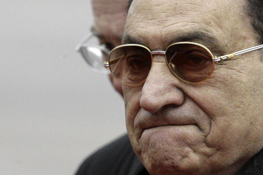 L'ancien présidentHosni Moubarak... (Photo: AFP)