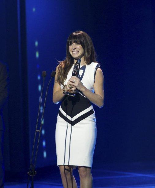 Marie-Mai a remporté le Félix du spectacle de l'Année. | 30 octobre 2011