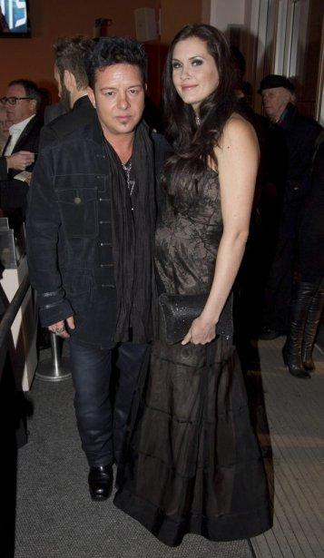 Éric Lapointe et sa conjointe. | 30 octobre 2011