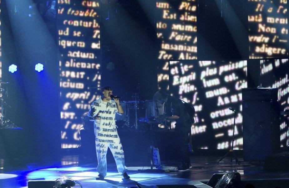 Le rappeur d'origine algonquine. Samian. | 30 octobre 2011