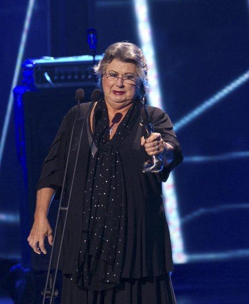 Ginette Reno a remporté le Félix de l'album pop de l'année. | 30 octobre 2011