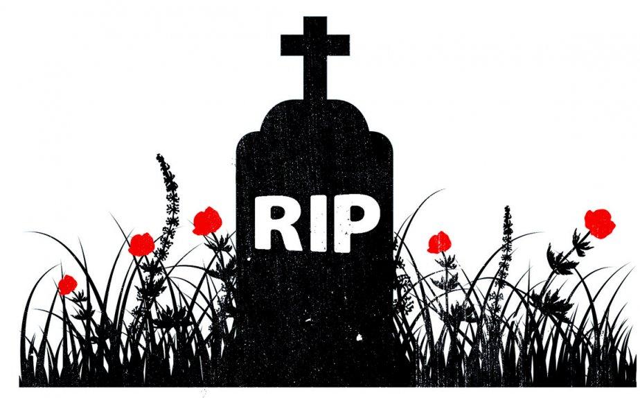 Qu'on se le dise: une mort, ça se... (Illustration: La Presse)