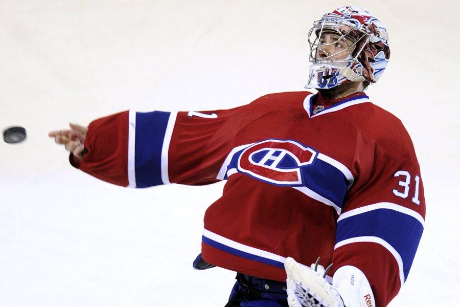 Carey Price a été choisi la première étoile... (Photo: Bernard Brault, La Presse)