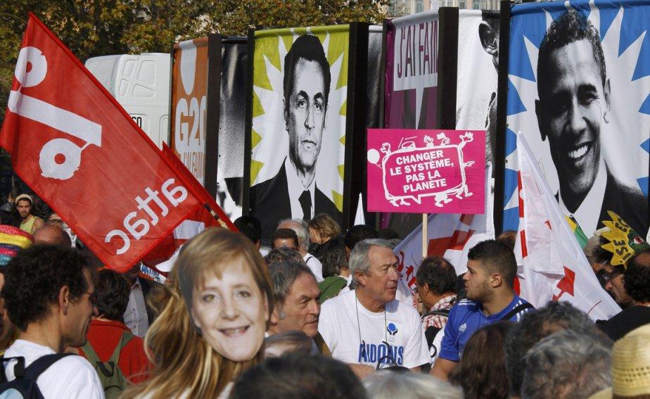 Plusieurs milliers de personnes manifestaient mardi à Nice pour  réclamer plus...