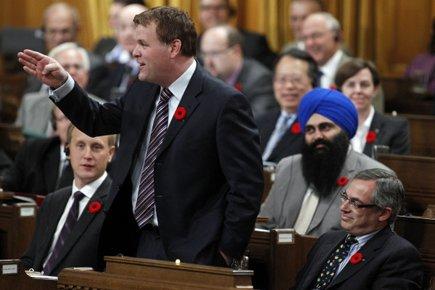 Le ministre des Affaires étrangères, John Baird.... (Photo: Reuters)