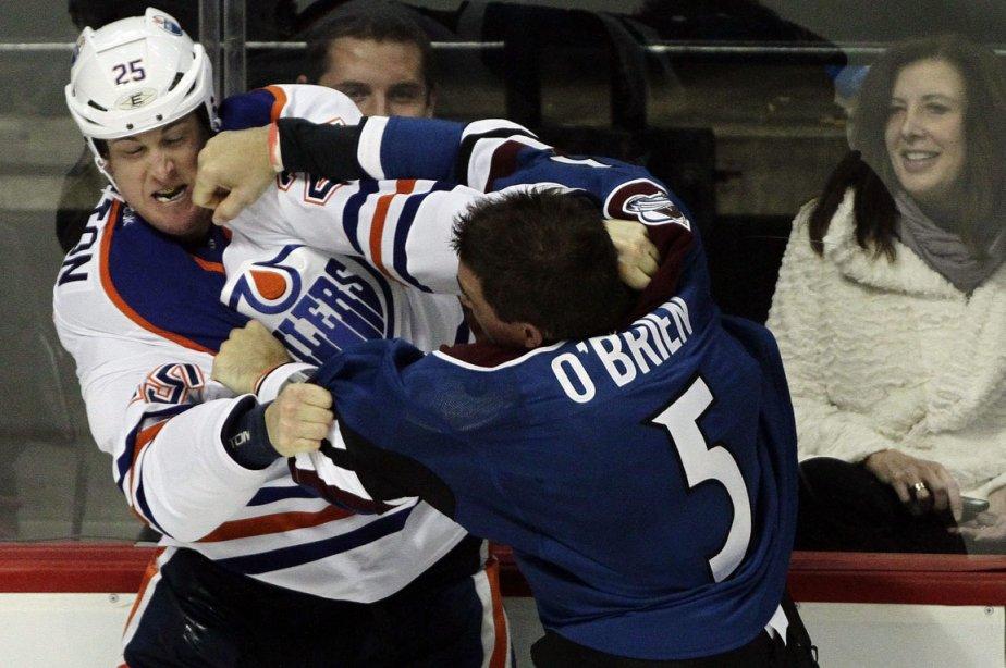 Shane O'Brien est venu à la défense de... (Photo: Barry Gutierrez, AP)