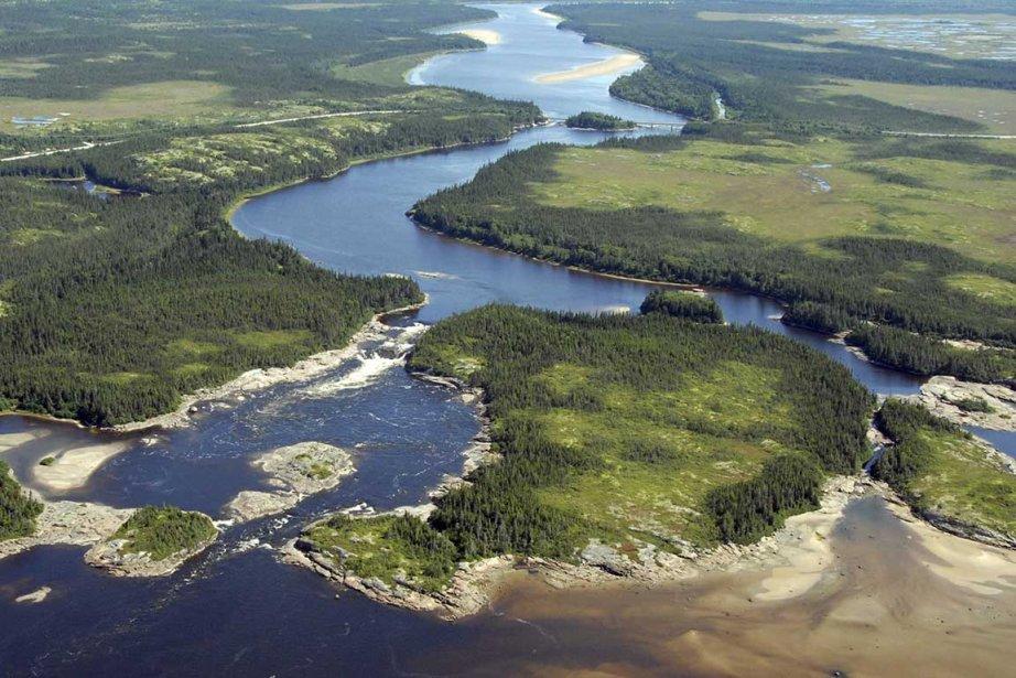 La rivière Romaine est l'un des axes sur... (Photo fournie par Hydro-Québec)