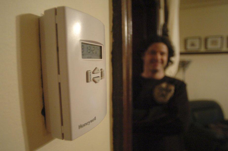 Un thermostat électronique.... (Photo: Martin Chamberland, Archives La Presse)