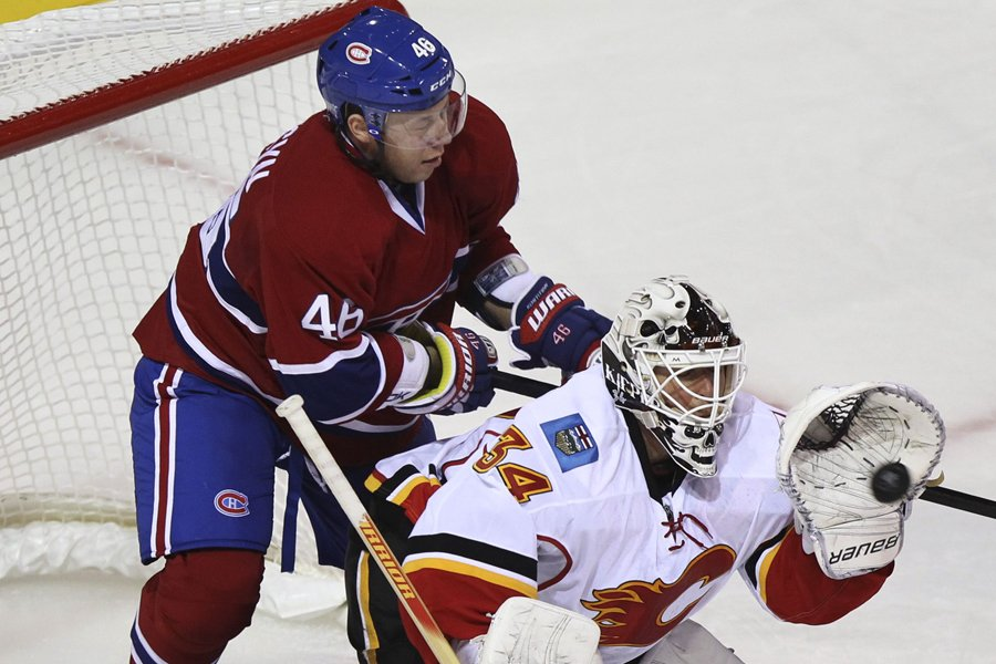 Andrei Kostitsyn est le troisième compteur du Canadien... (Photo: Reuters)