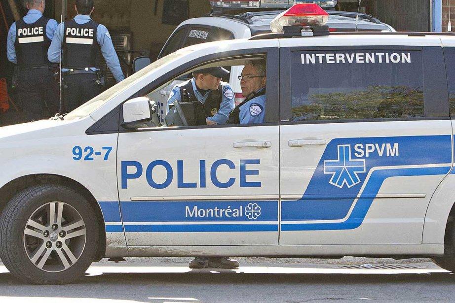 Des coups de feu ont semé la panique la nuit... (Photo archives La Presse)