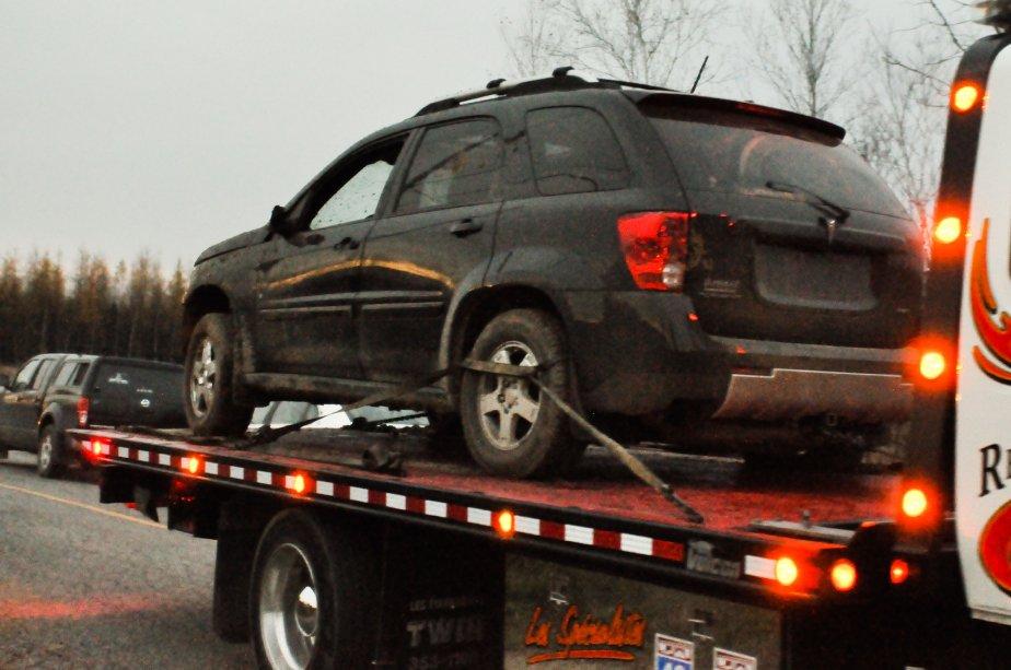 Les policiers ont aussi saisi un véhicule utilitaire sport qui avait été volé en mars dernier du côté de Maskinongé. | 3 novembre 2011