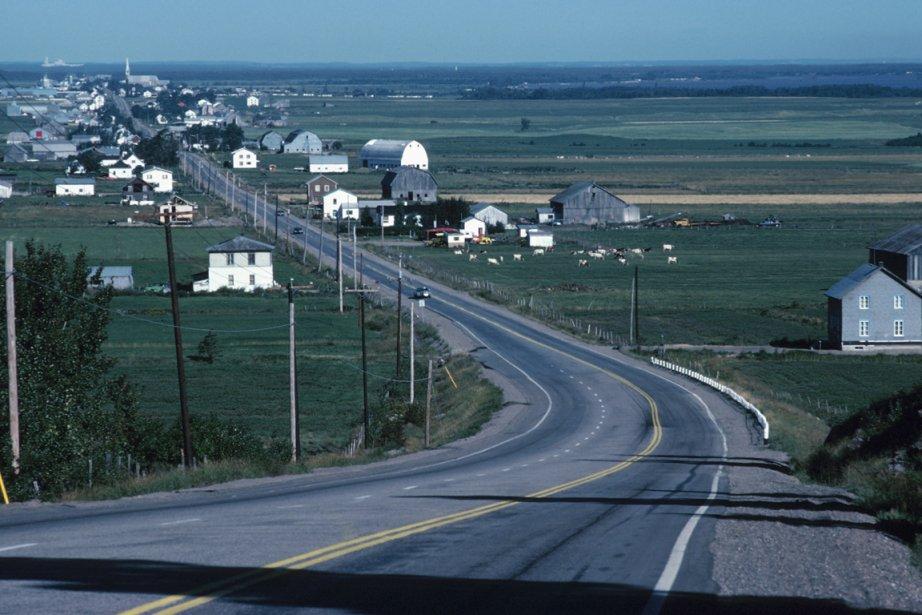 Paysage du village de St-Prime.... (Photo: La photothèque de La Presse)