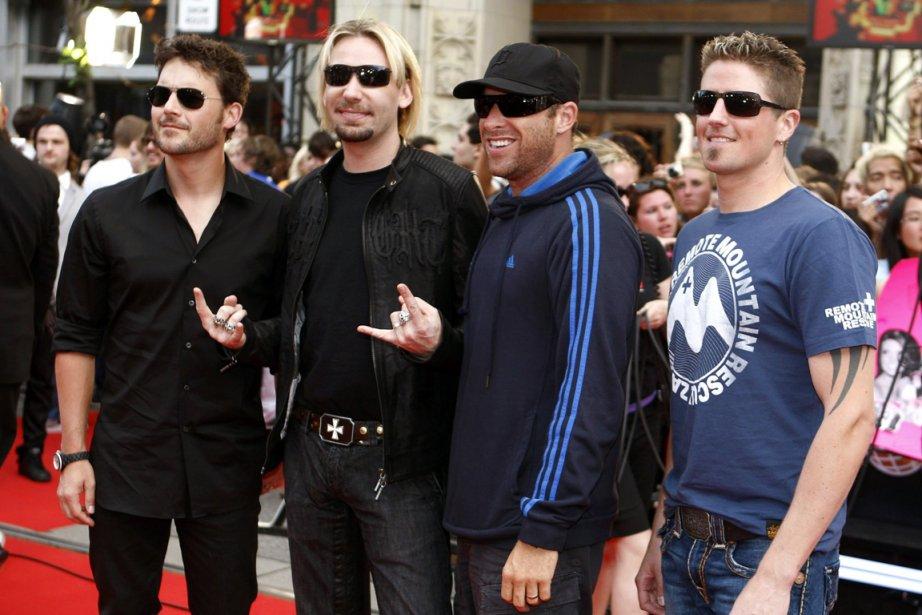 La formation musicale Nickelback ne serait pas nécesssairement... (Photo: MARK BLINCH, Reuters)