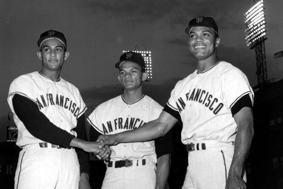 Jesus, Matty et Felipe Alou en 1963.... (Photo: Archives Associated Press)
