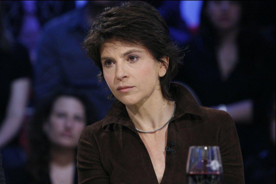 Anne Nivat sur le plateau de Tout le... (Photo fournie par Radio-Canada)