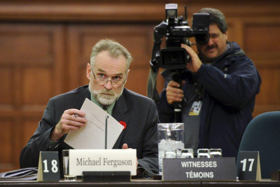 La nomination de Michael Ferguson au poste de... (Photo: Sean Kilpatrick, La Presse Canadienne)