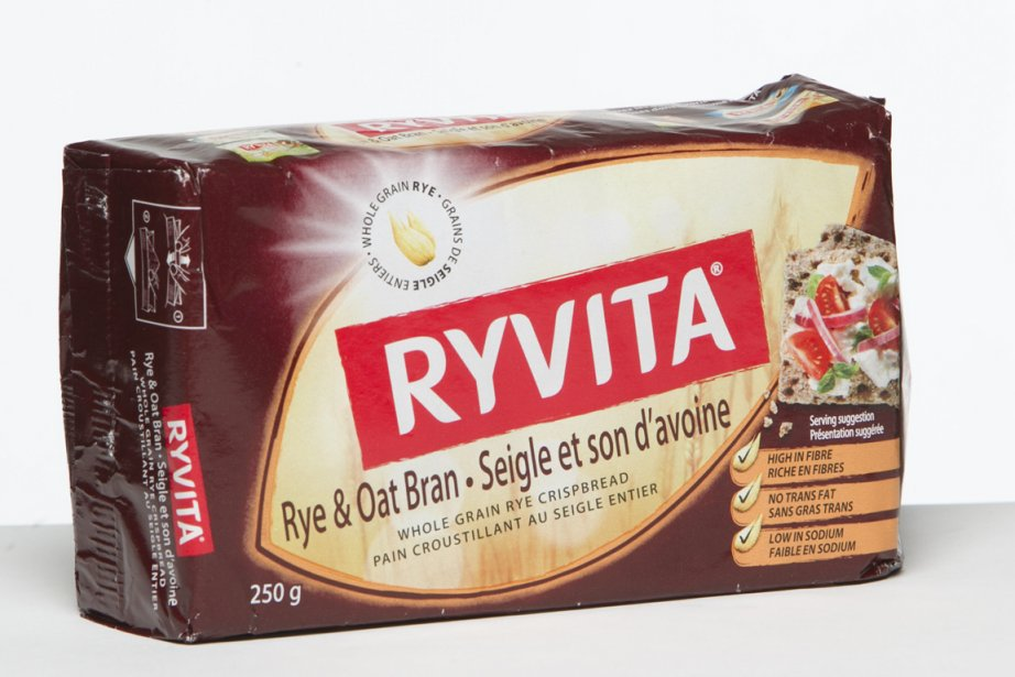 Pain croustillant Ryvita au seigle et son d'avoine... (Photo: Hugo-Sébastien Aubert, La Presse)