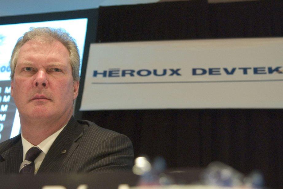 Le président et chef de la direction d'Héroux-Devtek,... (Photo: Ivanoh Demers, La Presse)