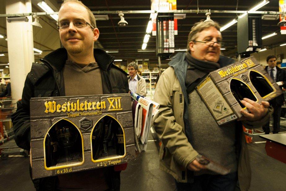 La Trappiste Westvleteren XII est très recherchée depuis... (Photo: AFP)