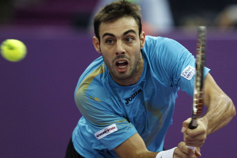 Marcel Granollers... (Photo: Reuters)