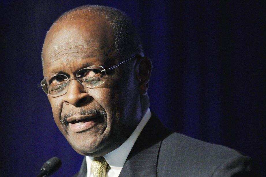 Herman Cain, 65 ans, seul Afro-Américain parmi les... (Photo: Jonathan Ernst, Reuters)