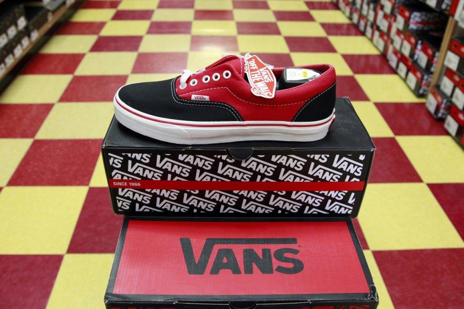 Vans, les chaussures préférées des  skateurs du... (Photo: AP)
