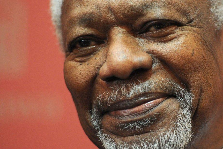L'ancien secrétaire général des Nations unies, Kofi Annan.... (Photo: Sean Kilpatrick, PC)