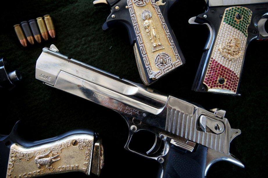 Des armes appartenant à des membres de cartels... (Photo archives The New York Times)