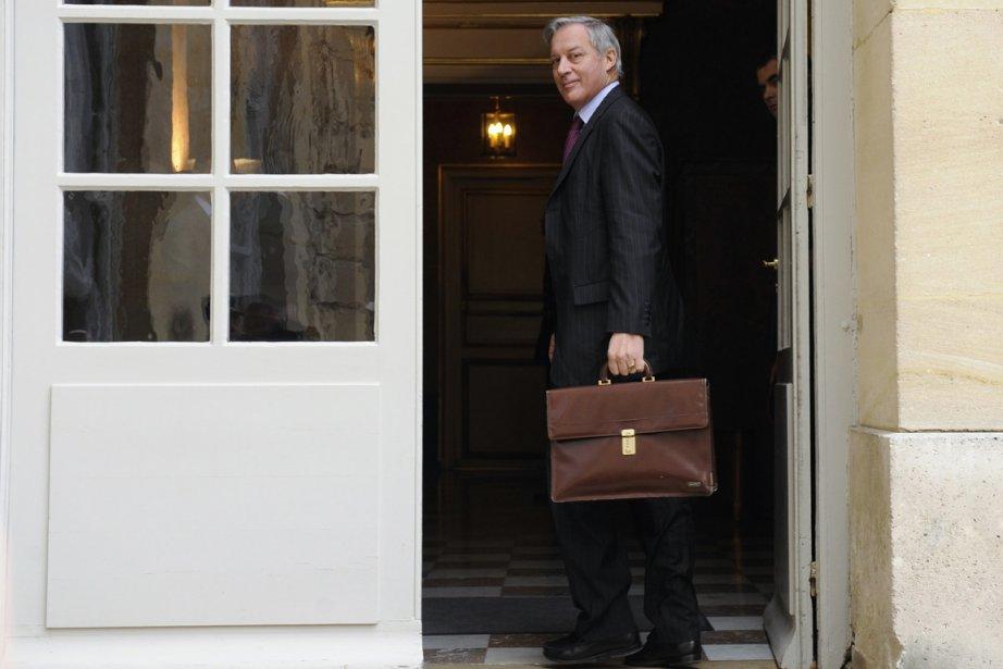 Le gouverneur de la Banque de France, Christian... (Photo: GONZALO FUENTES, Reuters)