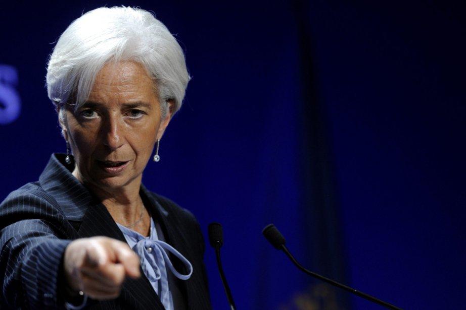 Christine Lagarde, directrice du Fond monétaire international.... (Photo: Berthold Stadler, AP)