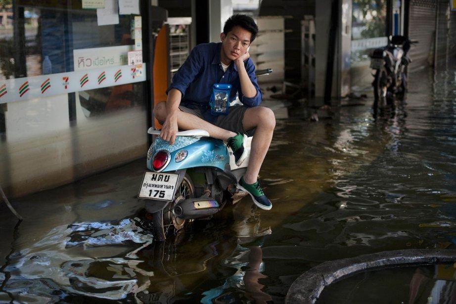 À Bangkok, au moins un cinquième de la... (Photo: AFP)