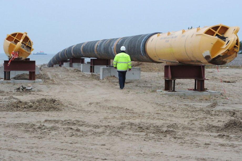 Le gazoduc North Stream.... (Photo: AFP)