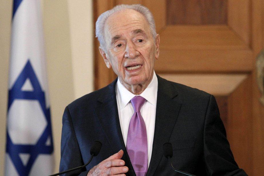 Shimon Peres... (Photo: AFP)