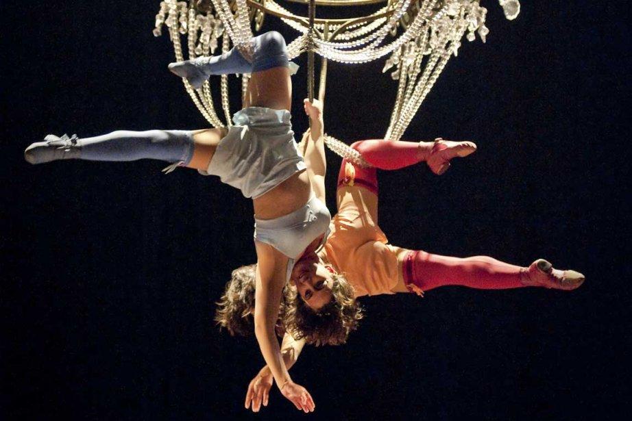 Corteo est présenté sous chapiteau à l'île Seguin.... (Photo Alexander Belenky, fournie par le Cirque du Soleil)