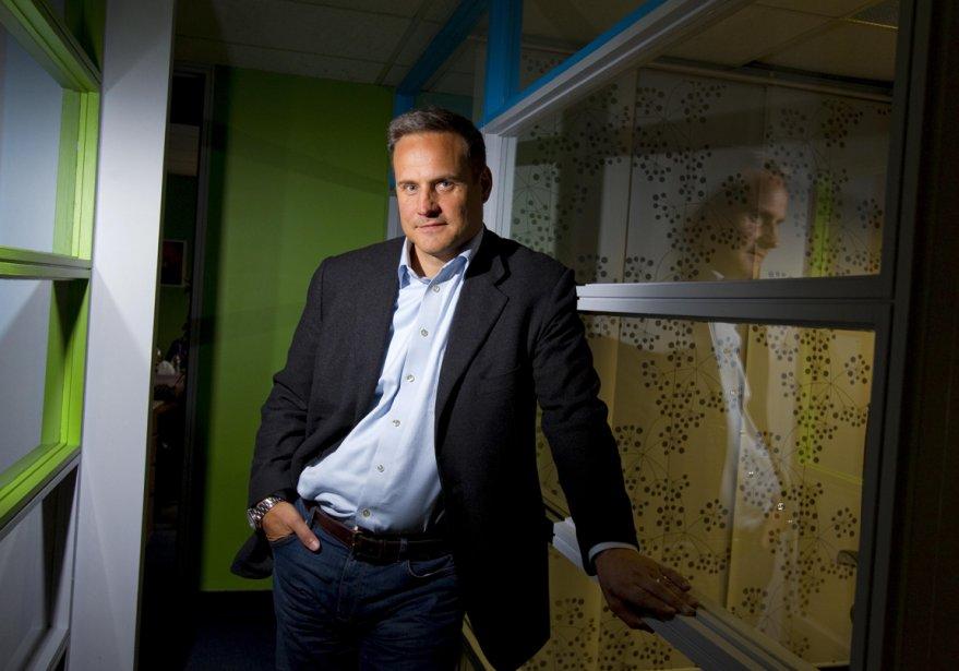 Éric Aubertin a bâti l'un des plus importants... (Photo Alain Roberge, La Presse)