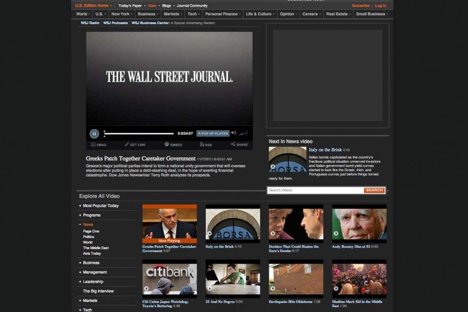 LeNew York Times diffuse des vidéos sur son...