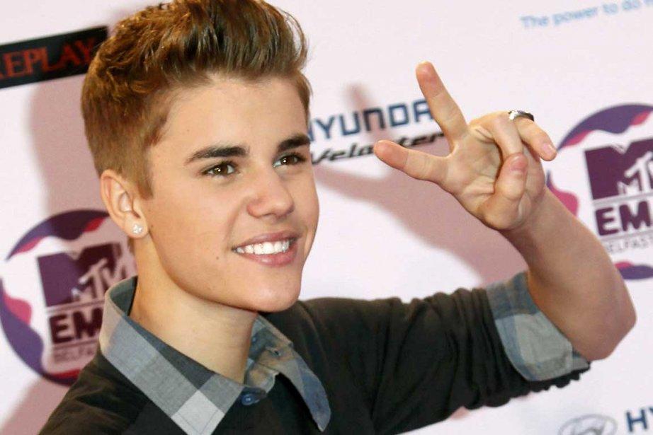 Justin Bieber... (Photo AFP)