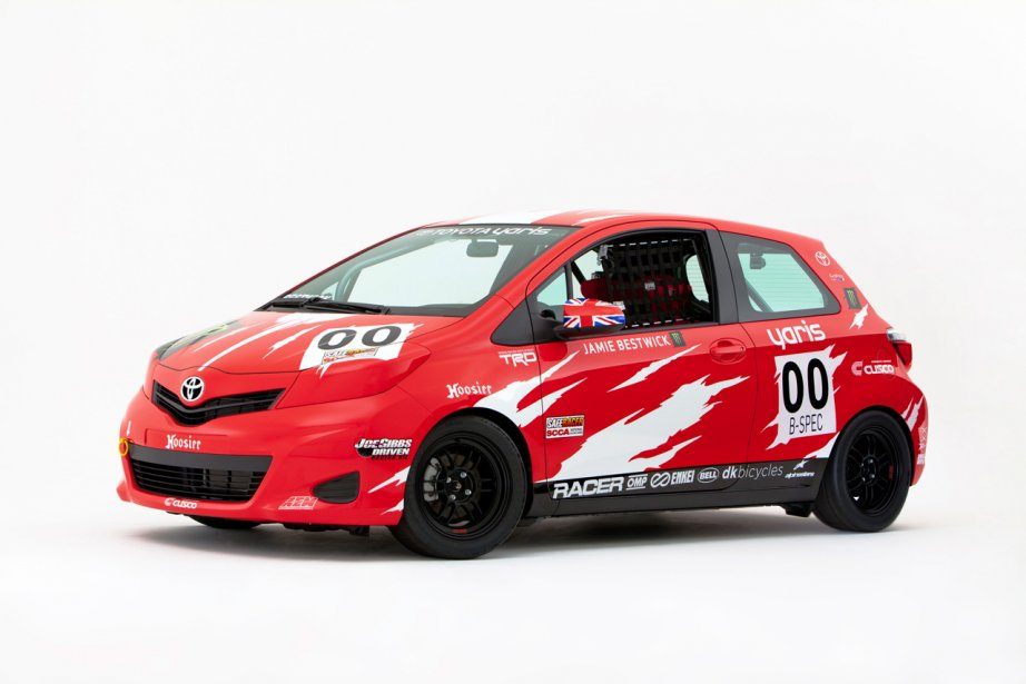 La Toyota Yaris Spec-B. (Photo fournie par Toyota)