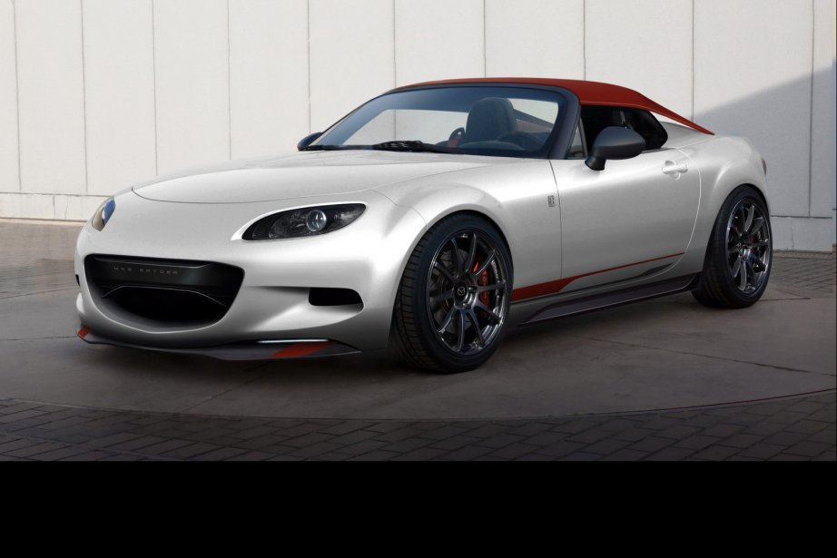 La Mazda MX-5 Spyder. (Photo Mazda)