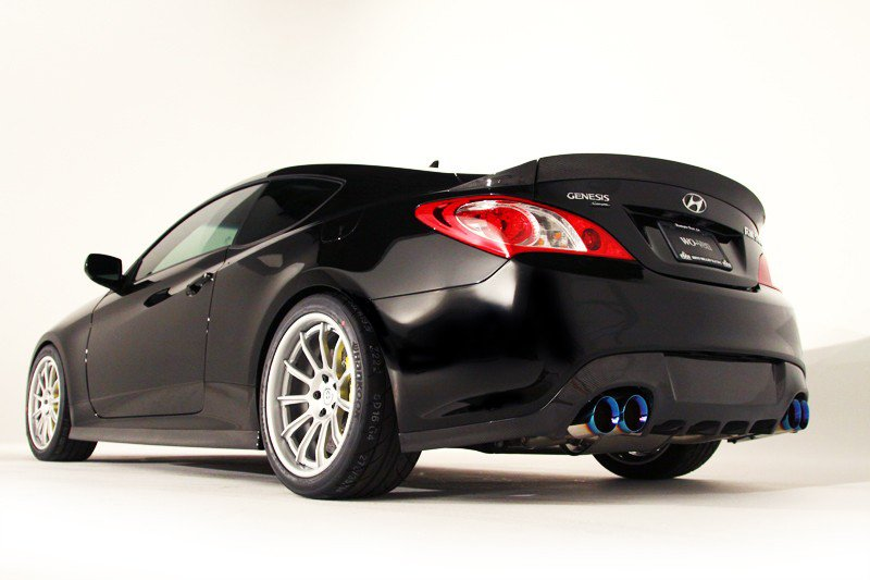 La Hyundai Genesis Coupe RM500. (Photo Hyundai)