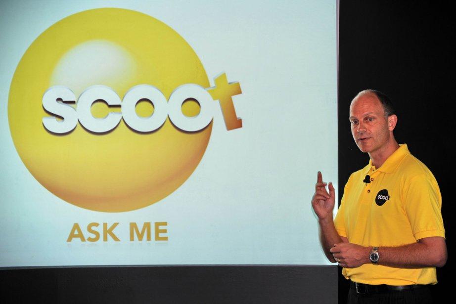 Le directeur de Scoot airlines Campbell Wilson... (Photo: AFP)