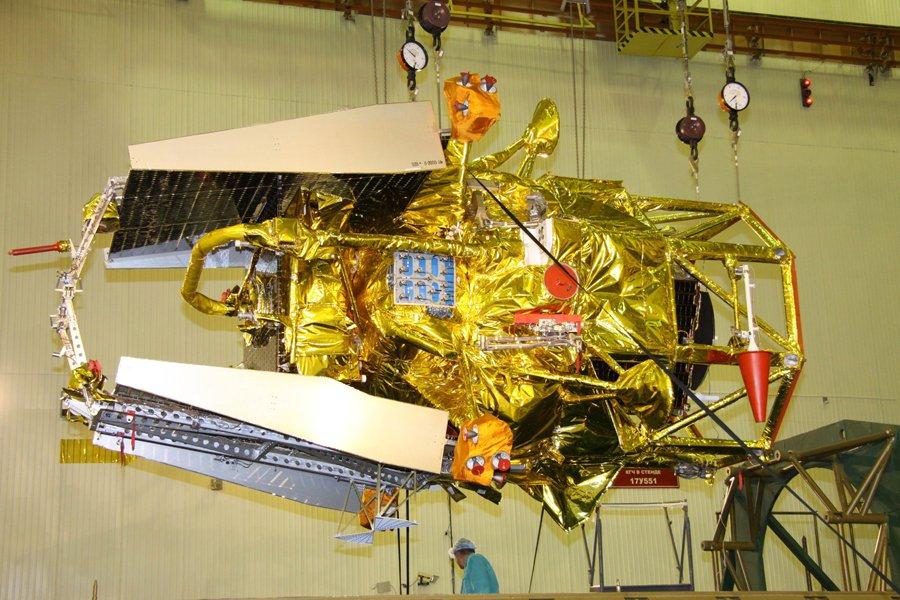 La sonde russe Phobos-Grunt.... (Photo: AFP)